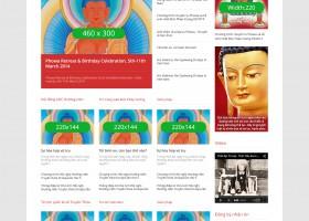 Thiết kế web drukpavietnam.org
