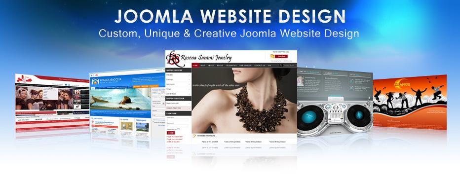 thiết kế website Joomla