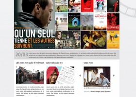 Thiết kế web liên hoan phim