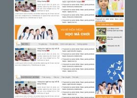 Thiết kế web nguyenvanhuyen.edu.vn