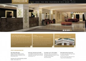 Thiết kế web stonecare.info