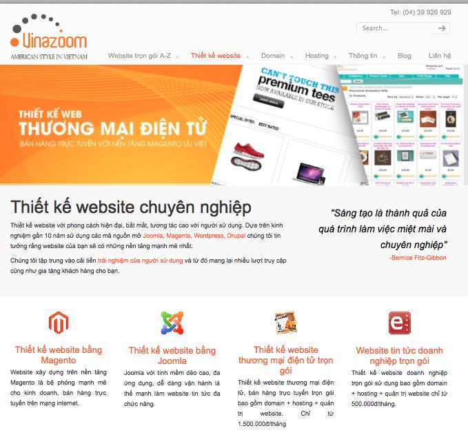Thiết kế web responsive - giao diện cho máy tính phổ thông