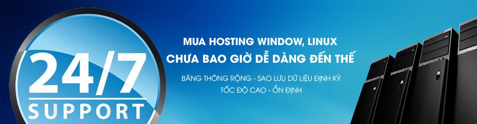 Hositng dich vu luu tru web - hosting linux