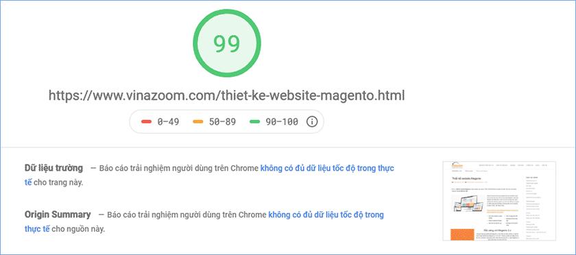 dịch vụ tăng tốc wordpress chuẩn Google